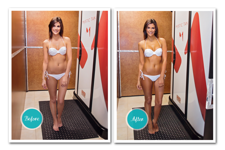 Shower Before Or After Tanning Bed
